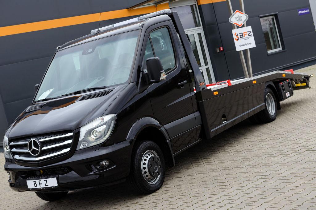Vente des camion porte voiture mercedes benz sprinter 516 cdi navi xenon neuf camion transport - Porte arriere mercedes sprinter ...