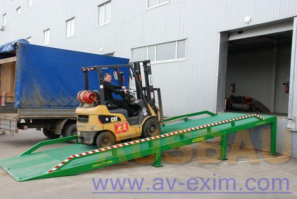 AUSBAU AUSBAU-ST Fixed ramp , Stacionarnaya rampa , Dock ramp , laadbrug rampe de chargement mobile neuf