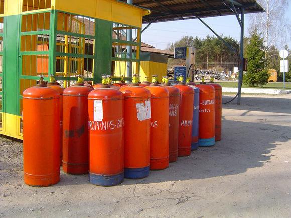 ZBA LPG cylinders PROPAN BUTAN citerne de gaz