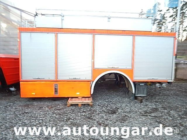 MERCEDES-BENZ Schlingmann Feuerwehr Aufbau m Rosenbauer Pumpe 24/8 carrosserie fourgon
