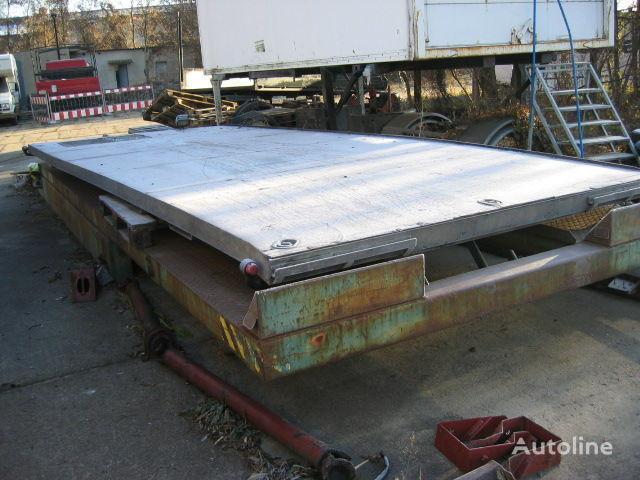 IVECO Eurocargo 80 carrosserie plateau ridelles