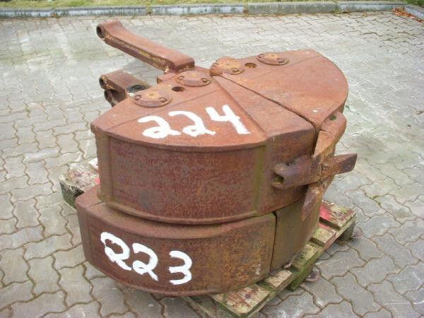 O&K O & K (224) 0.30 m Greiferschalen / 2-tine-grab pince de tri