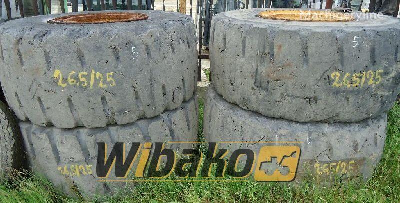 26.5/25 (19/45/49) pneu pour chargeur frontal