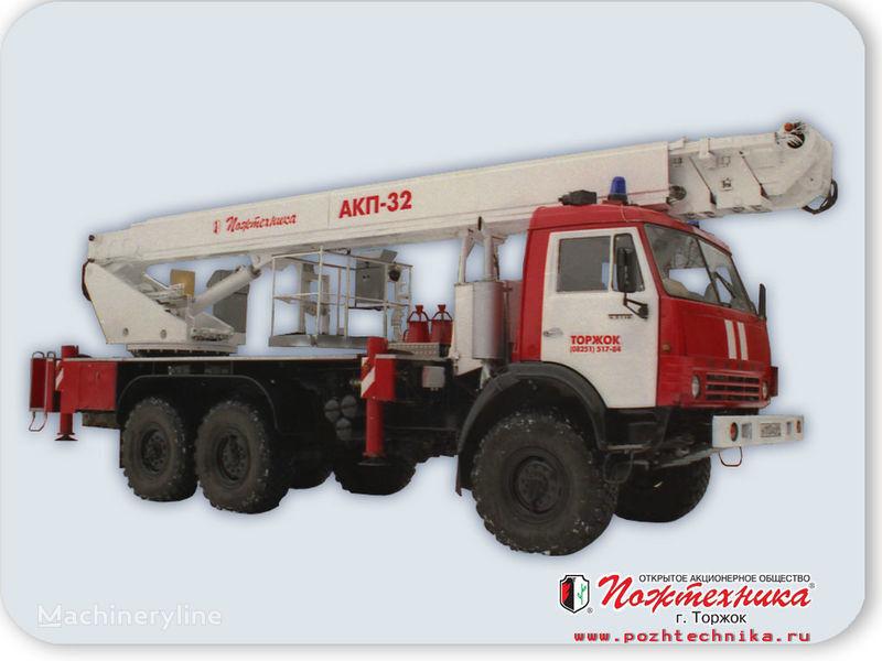 KAMAZ AKP-32 auto-échelle