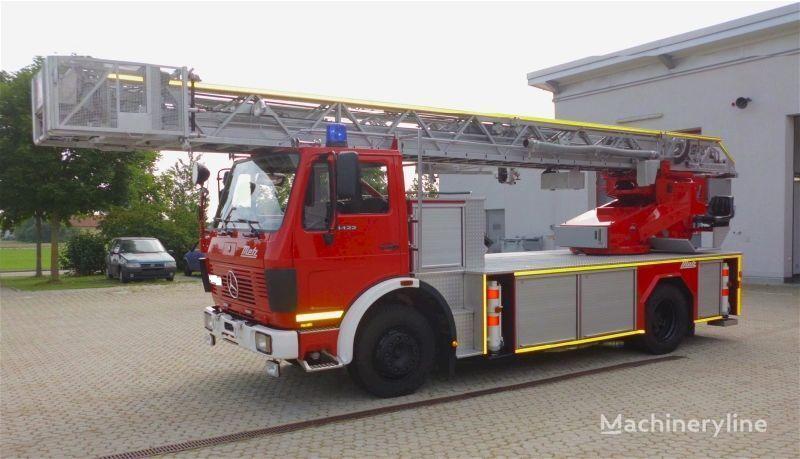 MERCEDES-BENZ F20126-Metz DLK 23-12 - Fire truck - Turntable ladder  auto-échelle