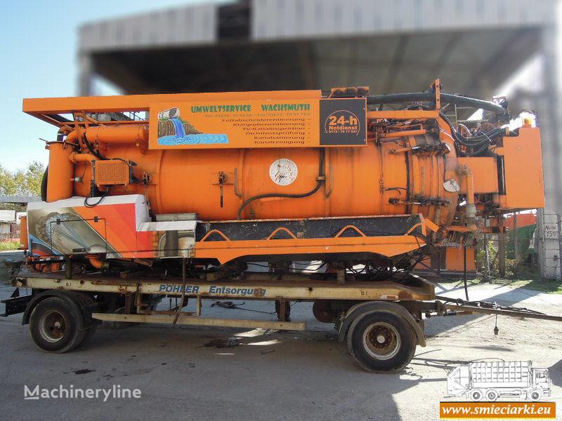 D/MRW/0173-18 camion aspirateur