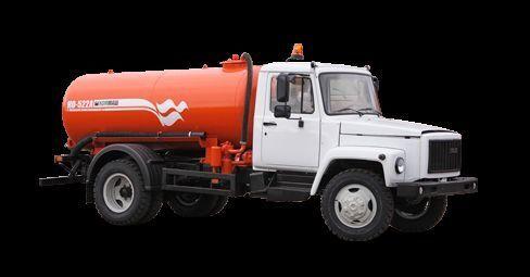 GAZ Vakuumnaya mashina KO-522B camion aspirateur