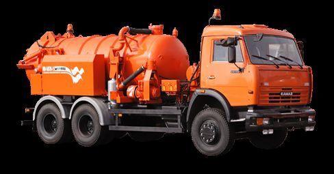 KAMAZ Ilososnaya mashina KO-507A-2 camion aspirateur
