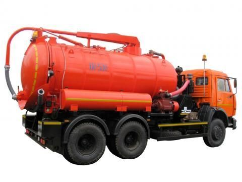 KAMAZ KO-530-01  camion aspirateur
