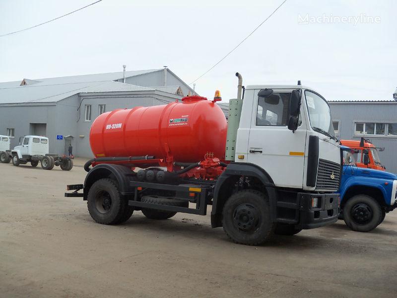 MAZ Vakuumnaya mashina KO-520M camion aspirateur