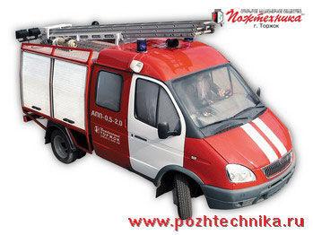 GAZ APP-0,5-2,0 Avtomobil pervoy pomoshchi     camion de pompier