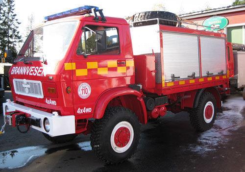 MAN 8.150, 4x4 WD camion de pompier
