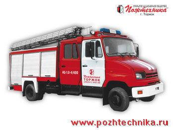 ZIL AC-1,0-4/400 camion de pompier