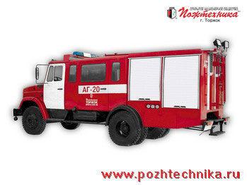 ZIL  AG-20 Avtomobil gazodymozashchitnoy sluzhby camion de pompier