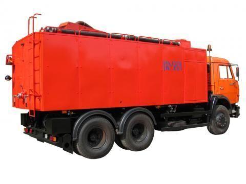 KAMAZ KO-564  camion hydrocureur