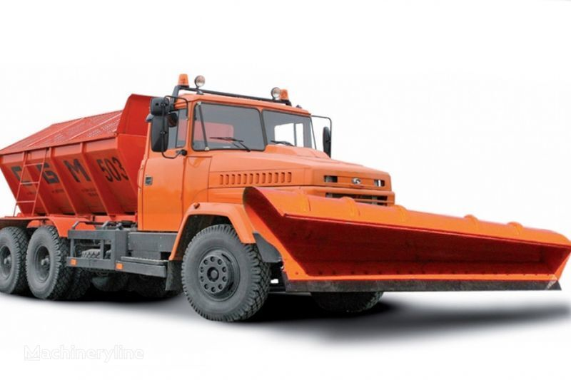 KRAZ 65055 MDKZ-30 épandeur à sable