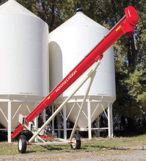 ROSTSELMASH Transporter zerna shnekovyy TSh lanceur de grain neuf