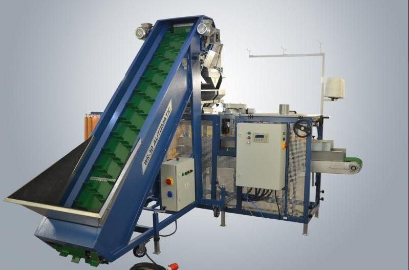 Vesovoy dozator dlya ovoshchey+upakovshchik v rashel-meshki machine d'emballage