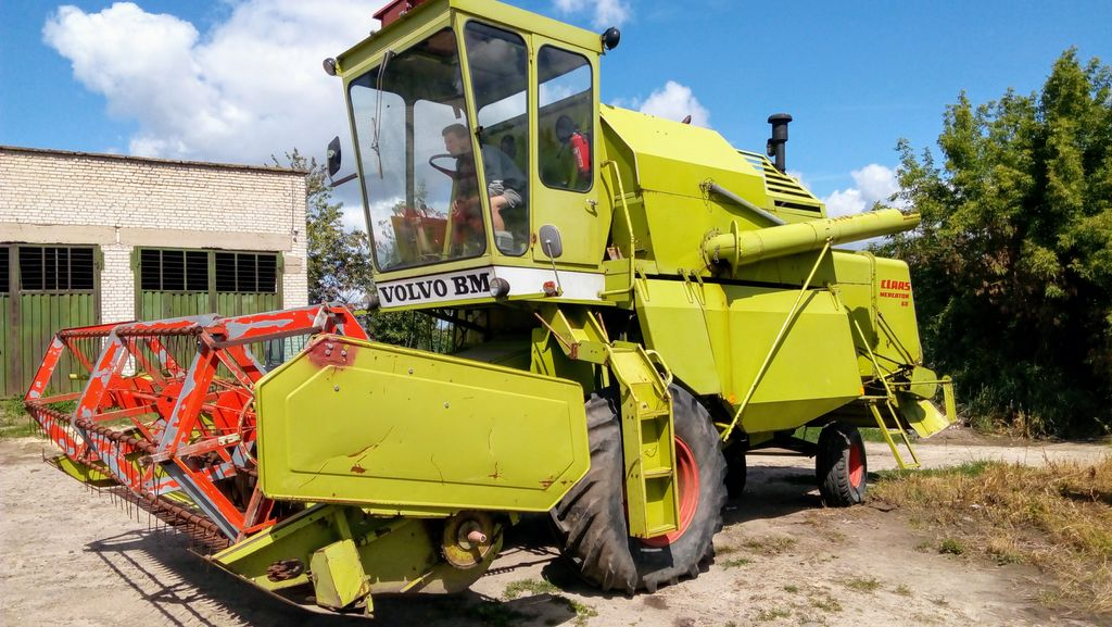 CLAAS MERCATOR 60 moissonneuse batteuse
