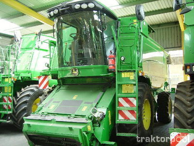 JOHN DEERE 9640  WTS moissonneuse batteuse