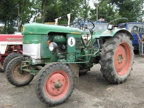 DEUTZ-FAHR D 25 S-N tracteur à roues
