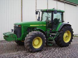 JOHN DEERE 8300 tracteur à roues