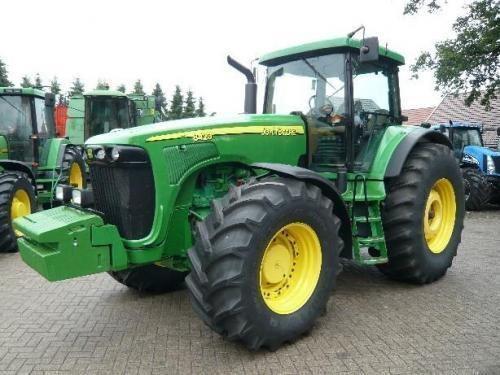JOHN DEERE 8420 Gusinichnyy tracteur à roues