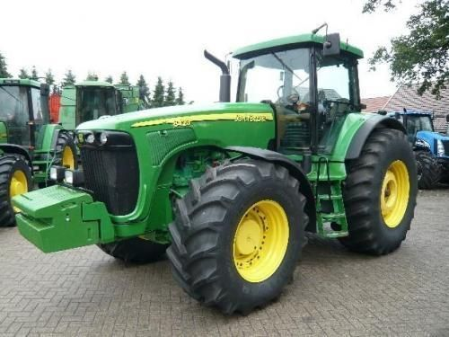 JOHN DEERE 8520 tracteur à roues
