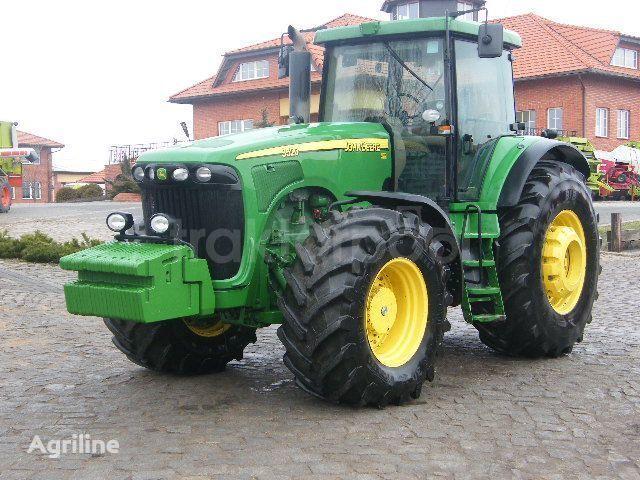JOHN DEERE 9520 tracteur à roues