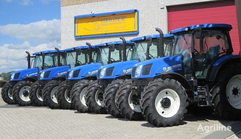 NEW HOLLAND T6.140 AEC, air, front suspensoin! tracteur à roues neuf