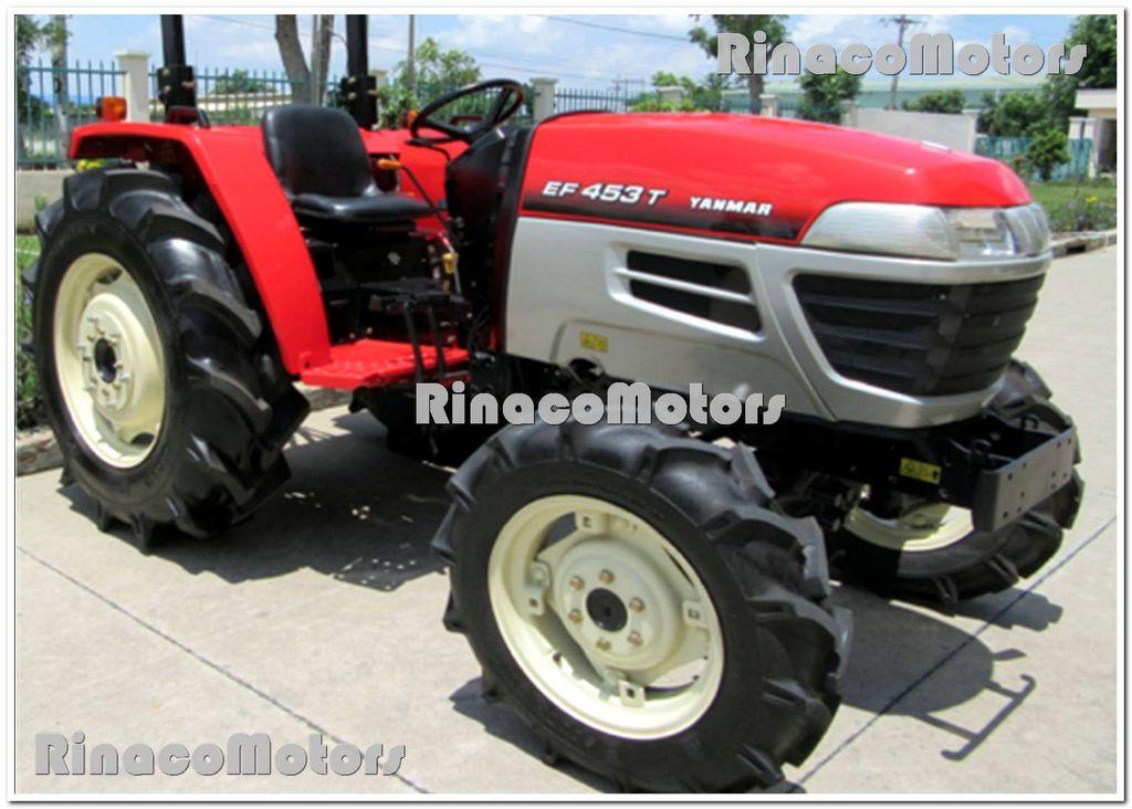 YANMAR GR453DT tracteur à roues