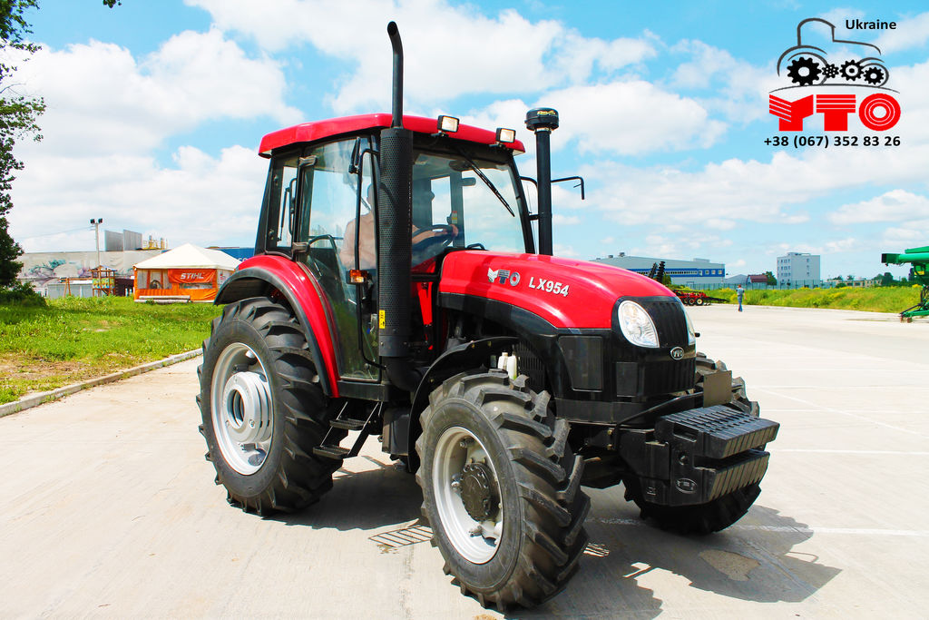 YTO LX954 tracteur à roues neuf