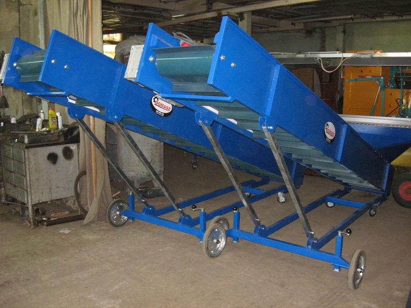 transporter (konveyer) - 4m  trémie de réception neuf