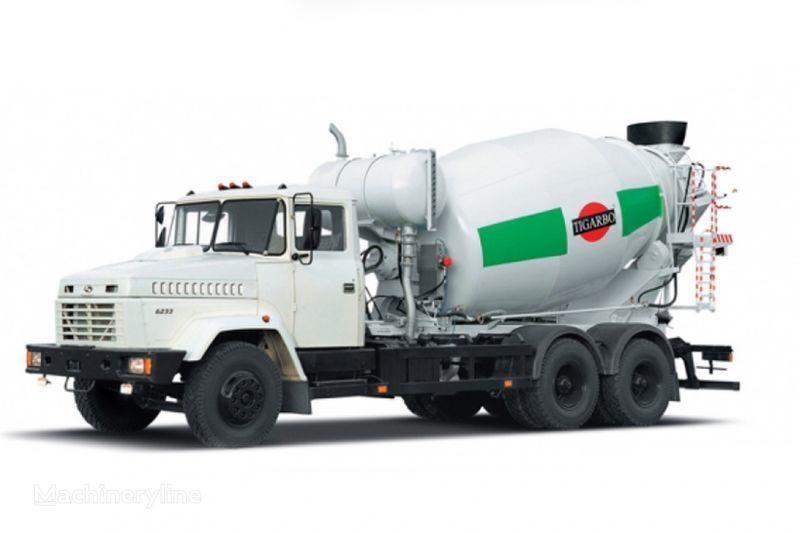 KRAZ 6233P4-TIP1  camion malaxeur