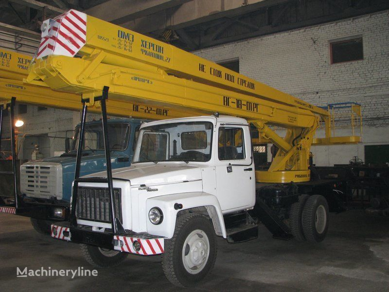 GAZ VS—18-01 RG  camion nacelle