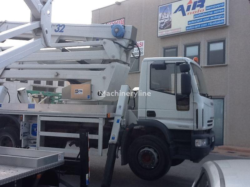 IVECO eurocargo CTE Zed 32  32mt camion nacelle