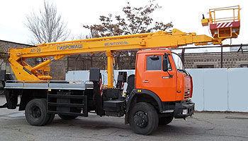 KAMAZ AP-28 camion nacelle