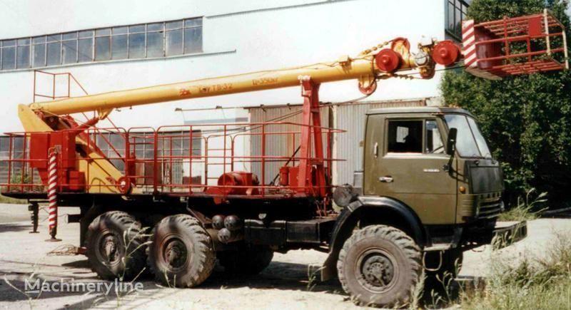 KAMAZ TV-32 camion nacelle