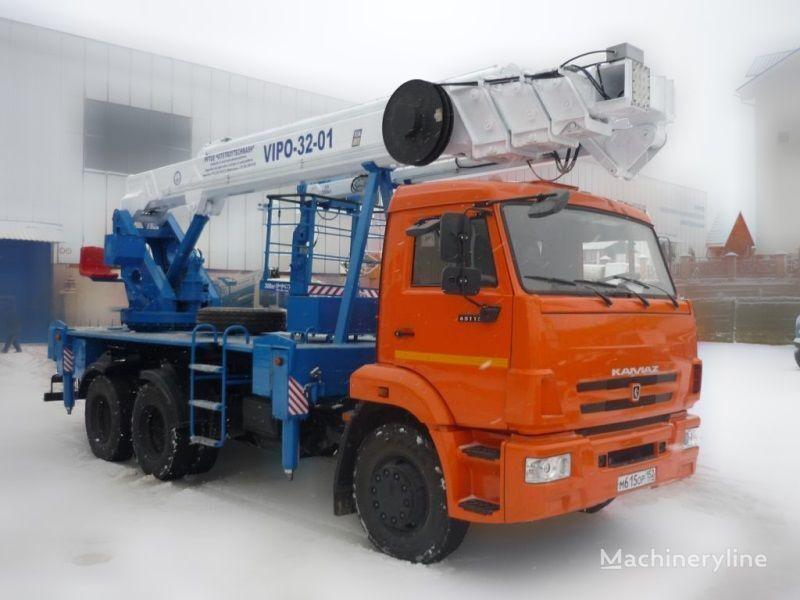 KAMAZ VIPO-32  camion nacelle