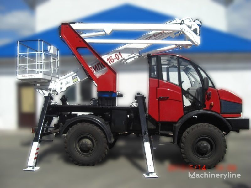 Lifting Machines AGP VIPO-16-01-02 Silant camion nacelle