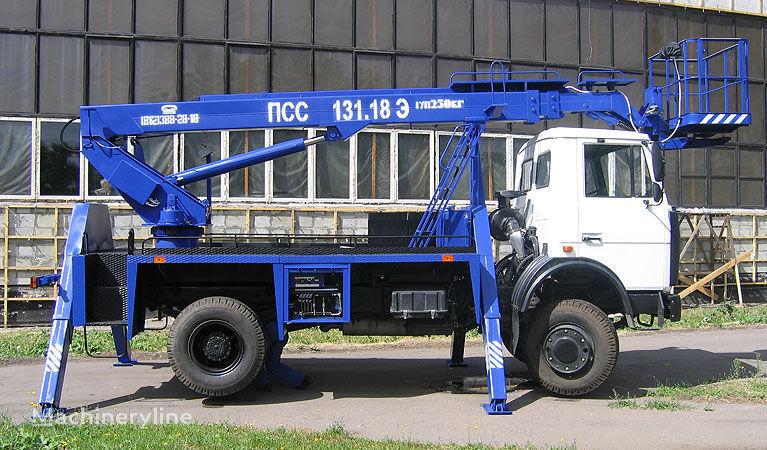 MAZ 5337A2 camion nacelle