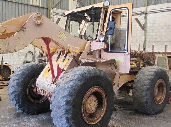 HANOMAG 55C  chargeur sur pneus pour pièces de rechange