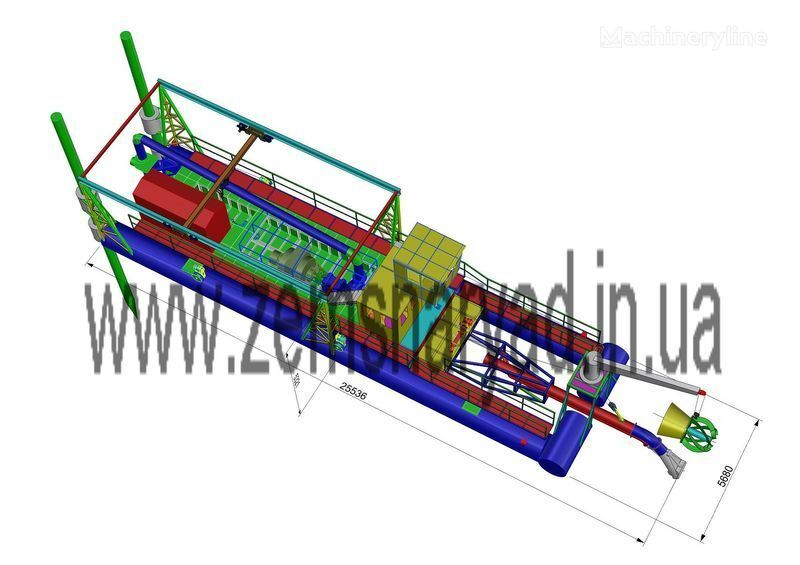 NSS Zemsnaryad NSS 6000/70-F-GR-E dragage