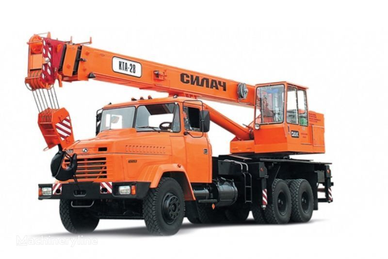KRAZ 65053 (KTA-28)  grue mobile
