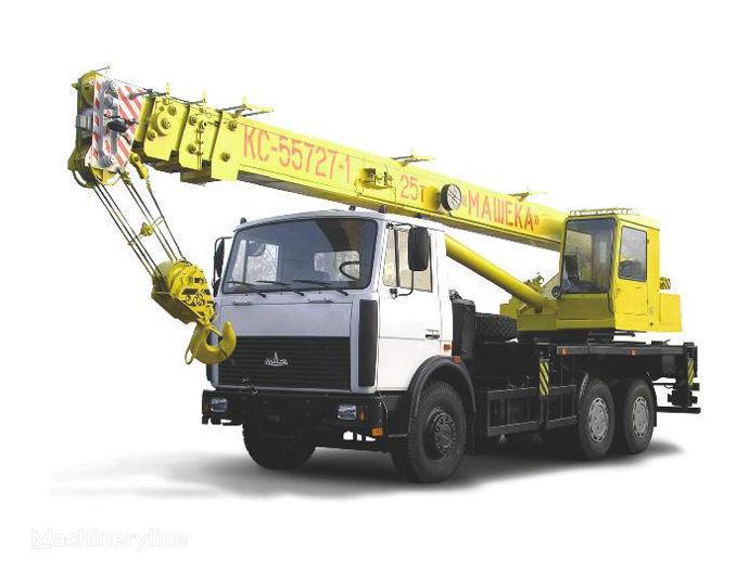 KS 55727-1, 7 sur châssis MAZ grue mobile