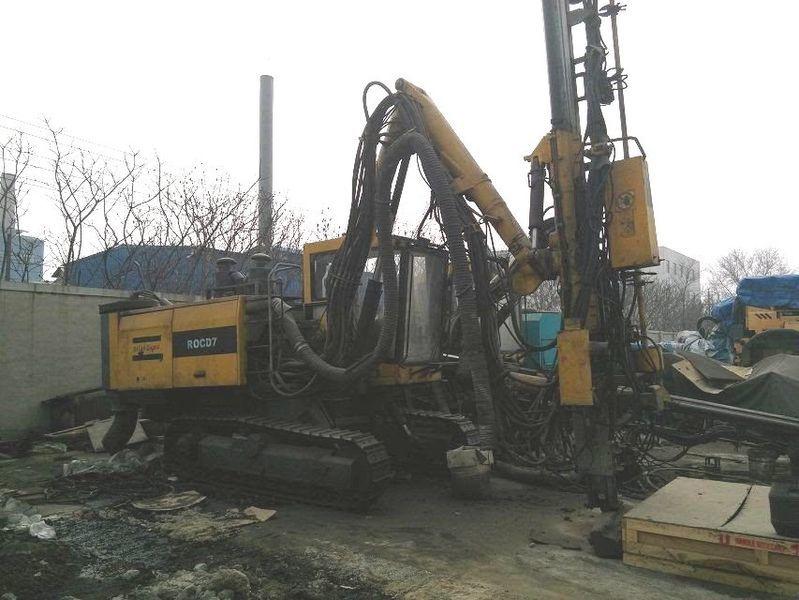 Atlas Copco Roc d7 machine de forage