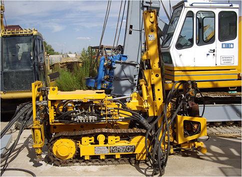 KLEMM MR701 machine de forage