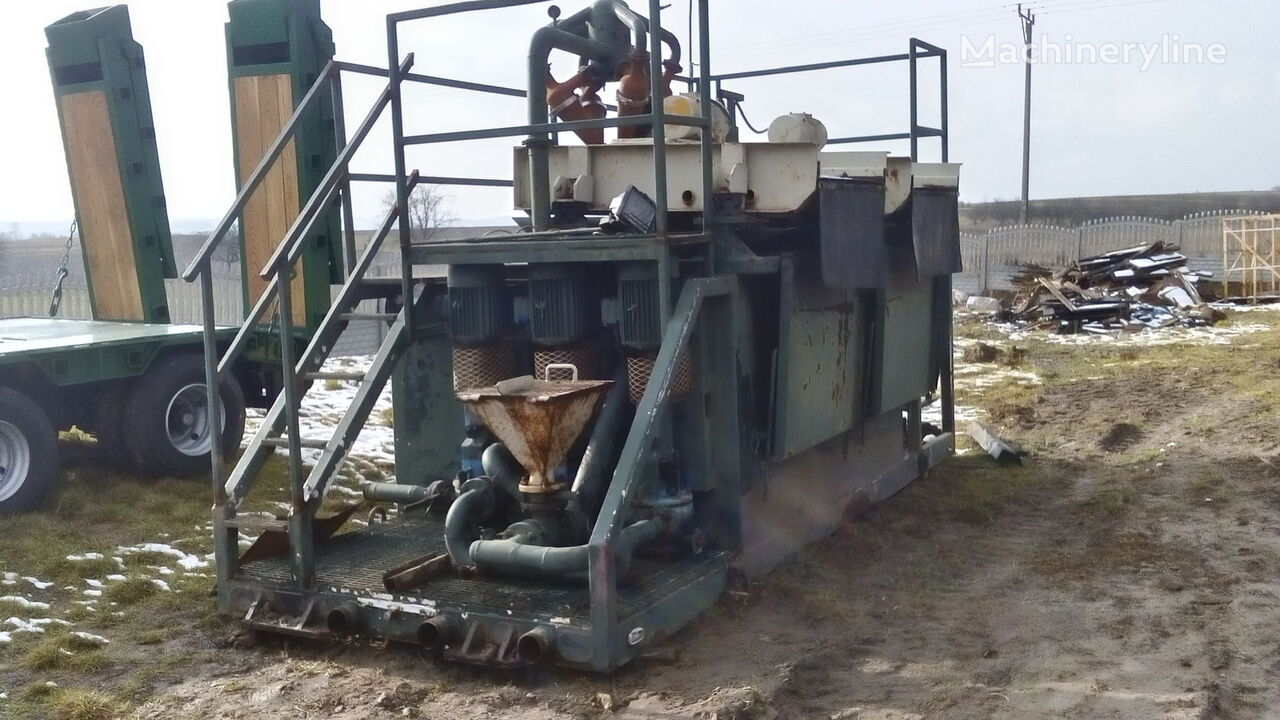 VERMEER  Mud recycling unit Basic Fabrication MCS 260 machine de forage