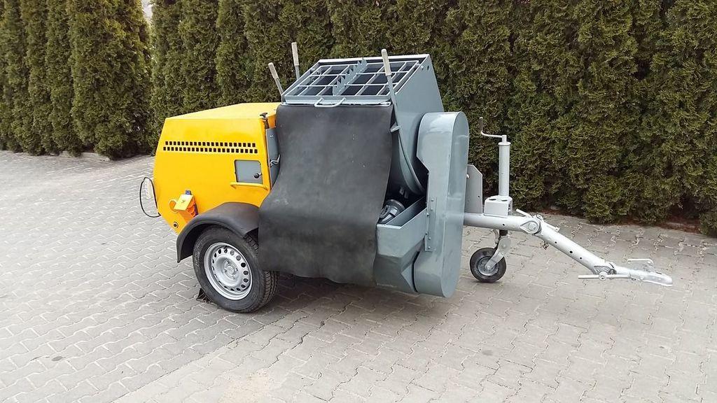 PUTZMEISTER P-13 KA 139 machine à plâtre