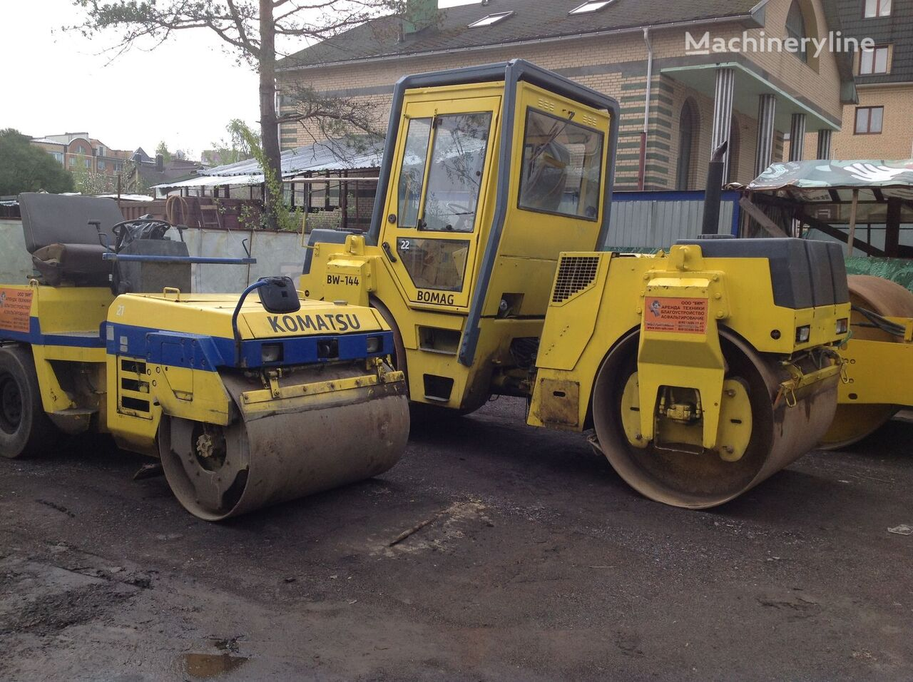 BOMAG BW 144 AD-2 rouleau compresseur